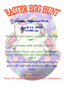 Easter Egg Hunt CANCELED @ Copake Memorial Park